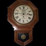 "Original ""Socony Gasoline*Motor Oil"" Advertisement Clock from ""Pop Johnson's Garage - Houston,Texas Circa 1930 !!!"