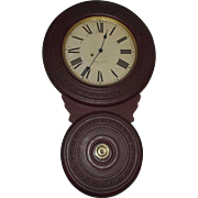 "Baird ""Saranac"" Model Wall Clock Circa 1892 !!!"