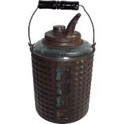 "Marked ""HOME"" Cutout Model 1 Gallon Kerosene Jug !!!"