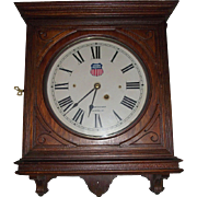"""Union Pacific Railroad"" Seth Thomas No. 5 Office Gallery Clock !!!"