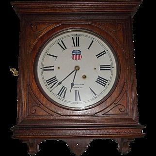 """Union Pacific Railroad"" Seth Thomas No. 5 Office Gallery Clock !!!"