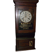 """Western Maryland Railroad"" Employee Time Punch Clock Circa 1910 to 1919 !!!"