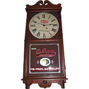 "Authentic ""Dr. Pepper"" Soda Advertising Store Regulator with Calendar Date made by Seth Thomas Clock Co. Circa 1925 !!!"