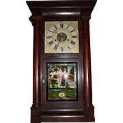 Rare S.B. Terry with Round Movement Shelf Clock Circa 1850's in a Fabulous Rosewood Case !!!