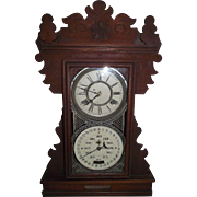 "RARE ""Display Model for the Feichtinger Patented Line of Calendar Clocks"" which were made from 1895 to 1905 !!!"