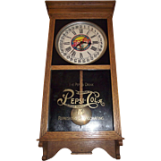 "Advertising ""Pepsi Cola"" Standard Store Regulator with Time & Calendar Date made Circa 1925 !!!"