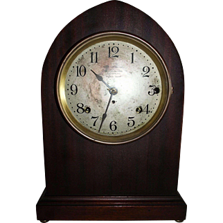 "Seth Thomas Musical ""Sonora Chime"" Clock with 5 Bells in a Mahogany Case !!!"