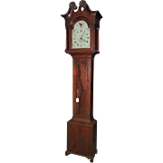 "Signed ""John Heintzelman * Manheim"" Grandfather Clock with Original Lancaster County, Pa. Chippendale Walnut Case Circa 1790 !!!"