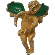 Hattie Carnegie Angel Brooch
