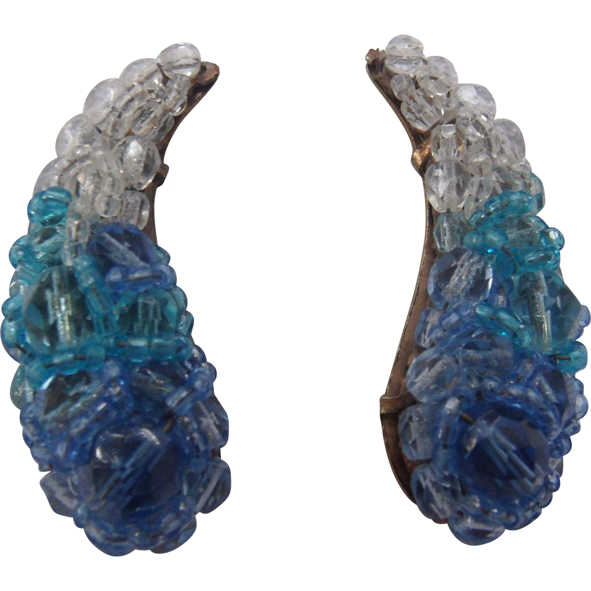 Coppola E Toppo Vintage Crystal Earrings