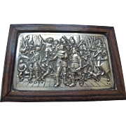 Dutch Silver & Wood Rembrandt Box - Red Tag Sale Item