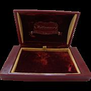 Vintage Wittnauer Watch Box