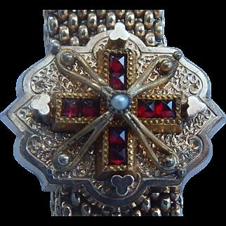 1872 Gold Filled Slide Bracelet
