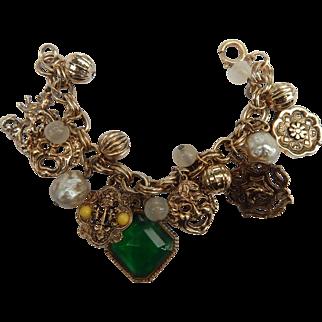 Fun Vintage Charm Bracelet