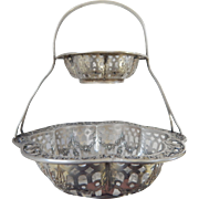 Webster Sterling 2 Tiered Basket