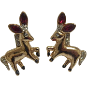 Coro Donkey Earrings