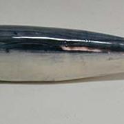 Adorable Vintage Folk Art Porcelain Fish ... Sardine, I think