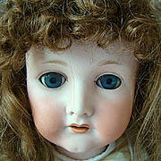 Antique CM Bergmann 1916 Doll  28""