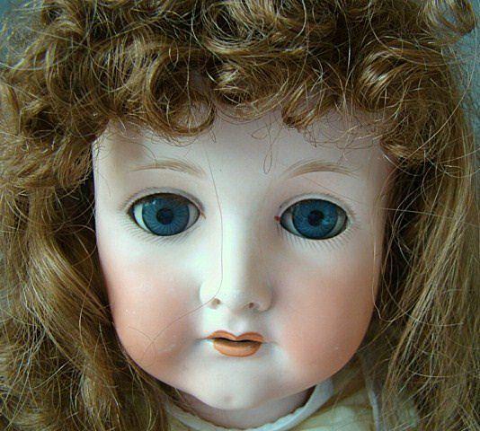 "Antique CM Bergmann 1916 Doll  28"""