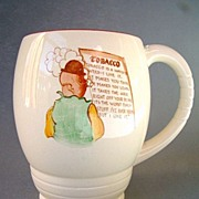 Carlton Ware Tobacco Advertising Mug, Humorous Theme