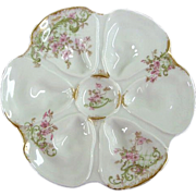 Antique Oyster Plate from Paris!