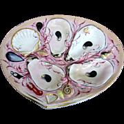Captivating UPW Antique Oyster Plate! ~ Union Porcelain Works