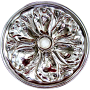 Antique Oyster Plate ~ Reed & Barton ~ Silver!