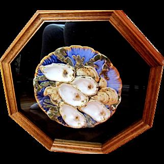 Custom Framed Antique PRESIDENTIAL Oyster Plate!