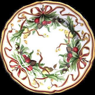 Tiffany & Co ~ Plate ~ Holiday ~ Christmas