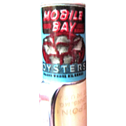 Oyster Can (Tin) Pencil ~ Advertisement ~ Rare