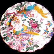 Royal Crown Derby OLDE AVESBURY Sheffield Dessert Plate(s) Ruffled/Fluted Rim