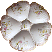 Antique Oyster Plate ~ Charming