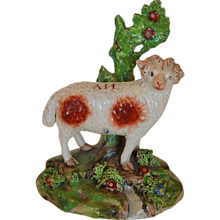 Early Antique Staffordshire Ram