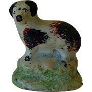 C1830-40 Antique Toy Staffordshire Dog