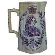 Queen Victoria 1837-1887 Jubilee Commemorative Pitcher
