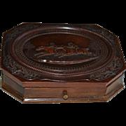 1/4 Plate Rare Horse Race Tintype Daguerreotype Thermoplastic Case/Box ~ F. Goll