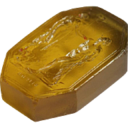 Extra-Large Grand Tour Georgian Glass Seal