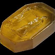 Extra-Large Grand Tour Georgian Glass Seal