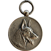1941 Silver Dutch Medal ~ German Shepherd Dog Award