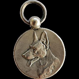 1934 Silver Dutch Medal ~ German Shepherd Dog Award