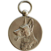 1935 Silver Dutch Medal ~ German Shepherd Dog Award