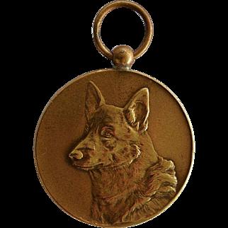 1951 Dutch Medal ~ German Shepherd Dog Award