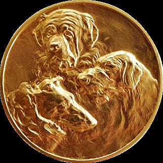 Bronze Dutch Medal ~ Show Dog Award