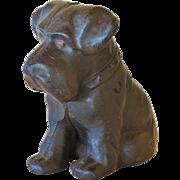 Antique Cast Iron Scottie Dog Doorstop ~ Scottish Terrier