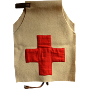 WW1-WW2 Red Cross Dog Vest