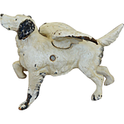 Antique Cast Iron Dog With Wings ~ Angel Dog