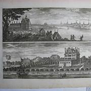 Erik Dahlberg Suecia Antiqua Carlberg Krusenberg 1717
