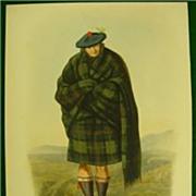 Mcian Clans Scottish Highlands Maclennan McLennan FOLIO H/C Lithograph 1845