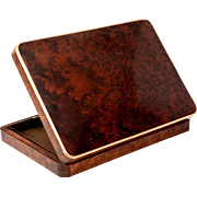 Antique French Jewelry Box, or Fit it Out for Display of Collection of Miniatures, Cutlery