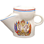 SALE Vintage 1937 King George VI & Elizabeth Coronation Scuttle Cup